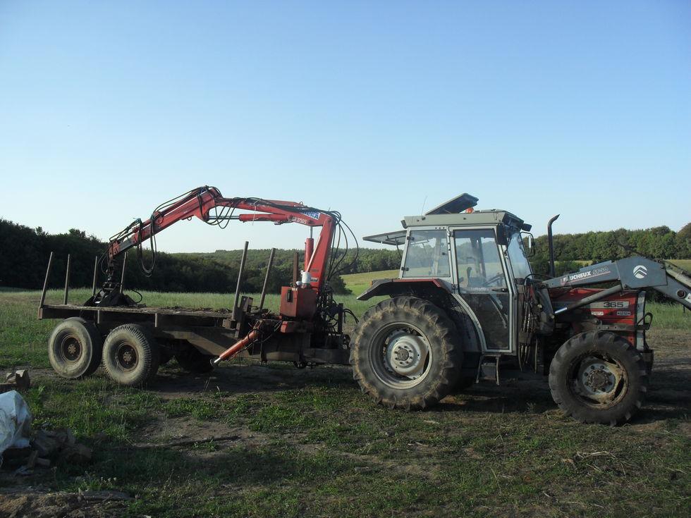 Livraison bois de chauffage 55 km autour de saint saury - Cars et les tracteurs ...